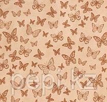 "Бумага крафт ""Бабочки"", 0,7 х 8 м"
