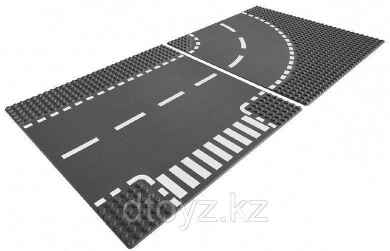 Lego City 7281 City Т-образный перекресток и поворот Лего Сити