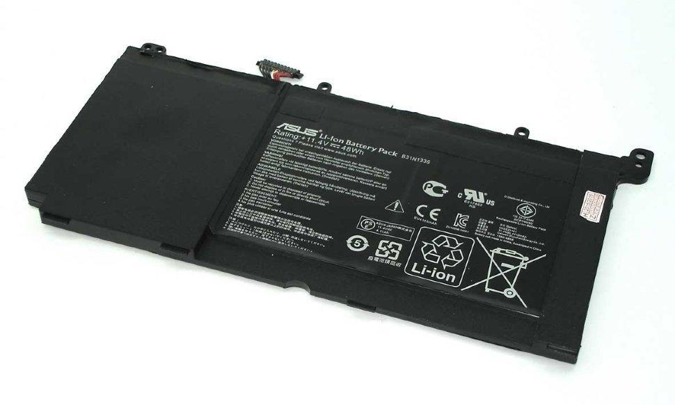 Аккумулятор для ноутбука Asus Vivobook S551, B31N1336 (11.4V, 4110 mAh) Original