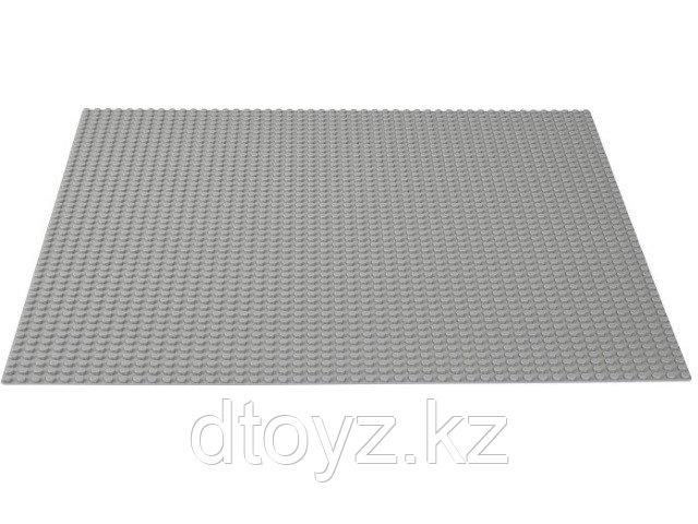 Lego Classic 10701 Строительная пластина серого цвета Лего Классик