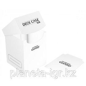 Коробочка для карт Deck case на 100шт, Ultimate Guard, цвет белый