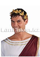Римский золотой лавровый венок (20 см)