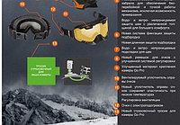 Тросик страховочный для экшн-камер на снегоходный шлем