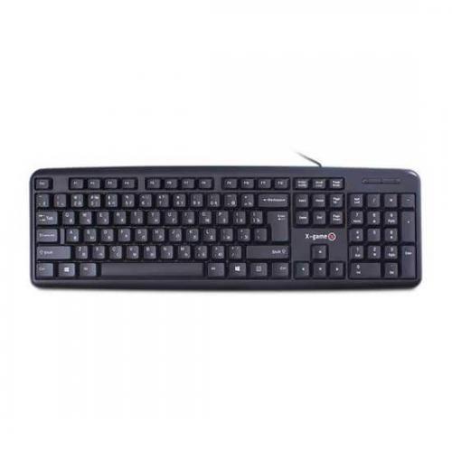 Клавиатура USB, X-game XK-100UB, Черный