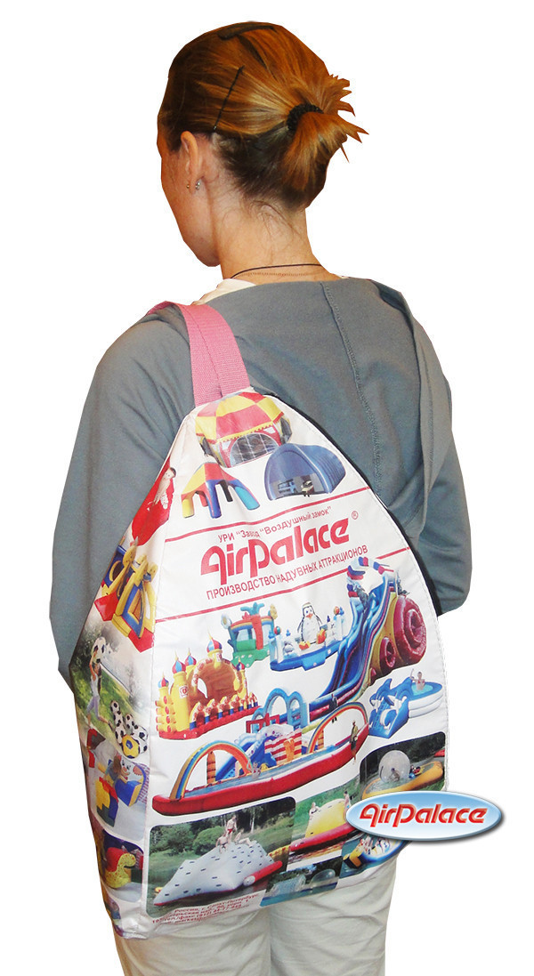 Надувная фигура Рекламный рюкзак
