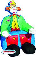 Большая надувная фигура Трон Клоун