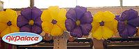 Гирлянда цветов Лето с эффектом раскрытия