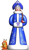 Большая надувная фигура Снегурочка