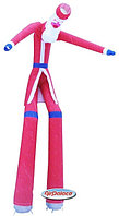 Аэромен надувной человечек Дед Мороз 6 м