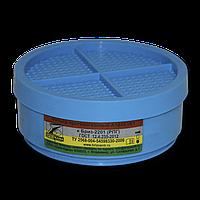 Сменный фильтр А1В1Е1 к Бриз-2201 (РПГ) от паров органических и неорганических веществ, кислых газов