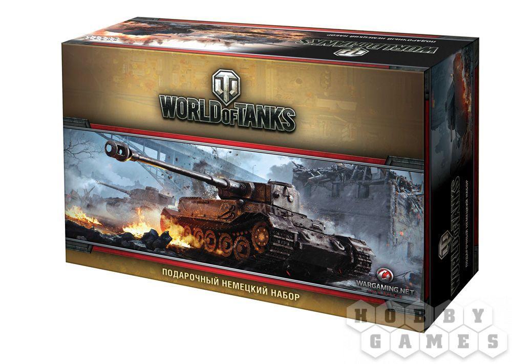 Настольная игра: World of Tanks. Подарочный Немецкий Набор (5-е рус. изд.)