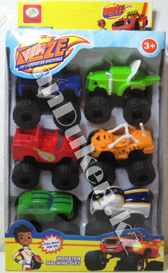 """Игровой набор из 6 машин """"Вспыш и чудо машинки"""" - фото 2"""