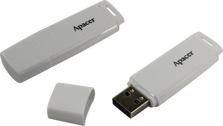 Флешка USB Apacer AH336, 16GB, Белый