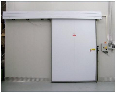 Навес дверной холодильной камеры