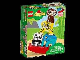 10884 Lego Duplo Мои первые цирковые животные, Лего Дупло