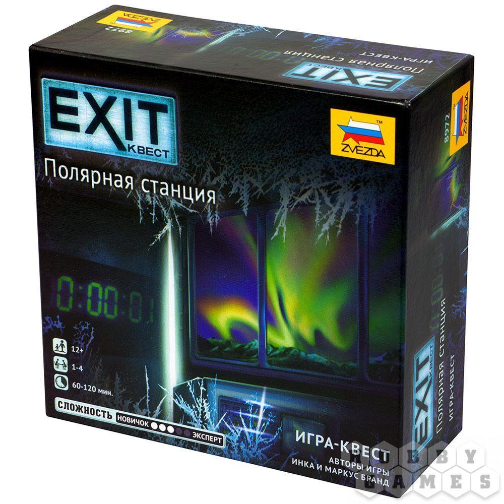 Настольная игра: EXIT-Квест: Полярная станция