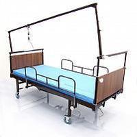 Кровать-кресло с тренировочной рамой для механотерапии и/или тракции. КМФ 942А механо.