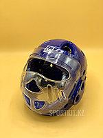 Шлем для тхэквондо с защитным стеклом. Бесплатная доставка
