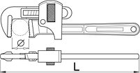 Ключ трубный 494/6, фото 2
