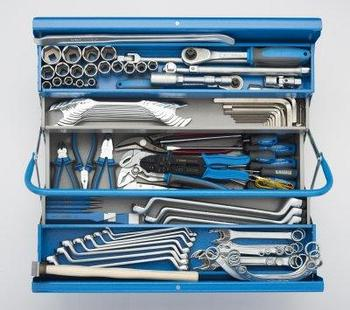 Набор инструментов (112 предметов) в ящике арт. 912/5 - 931