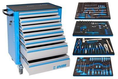 Набор инструментов (193 предмета) в тележке инструментальной 940EV4 1011BEV4