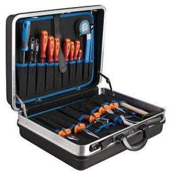 Набор инструментов (21 предмет) в чемодане 970U2 971/4