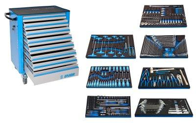 Набор инструментов (325 предметов) в тележке инструментальной 940EV6 1011AEV6