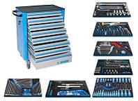 Набор инструментов для обслуживания тяжелого машинного оборудования и транспортных средств 1012A