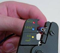 Плоскогубцы (клеммник) для электромонтажных работ 428/4, фото 3