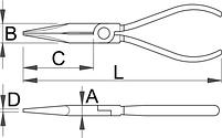 Плоскогубцы комбинированные телефонные 503/4AP, фото 2