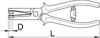 Плоскогубцы-пробойники 515/1BI, фото 2