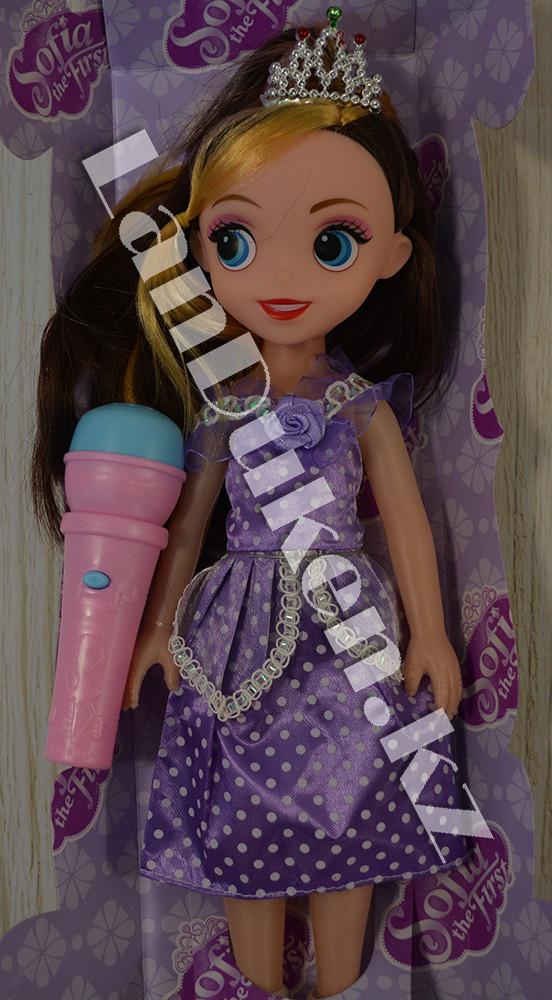 Принцесса София кукла с микрофоном - фото 3