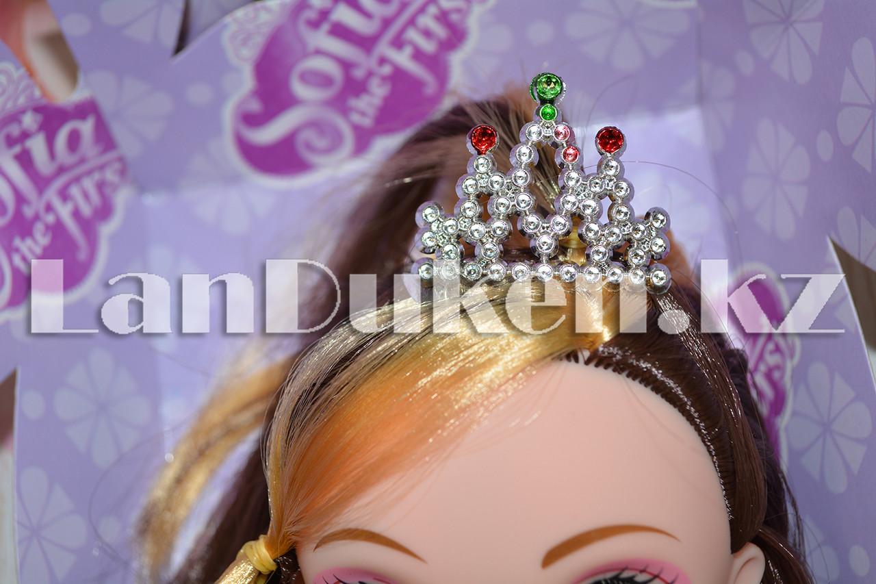 Принцесса София кукла с микрофоном - фото 7