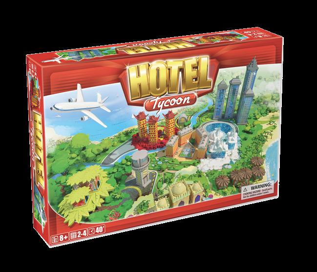 """Настольная игра """"Отель Тайкун"""", Hotel Тycoon"""
