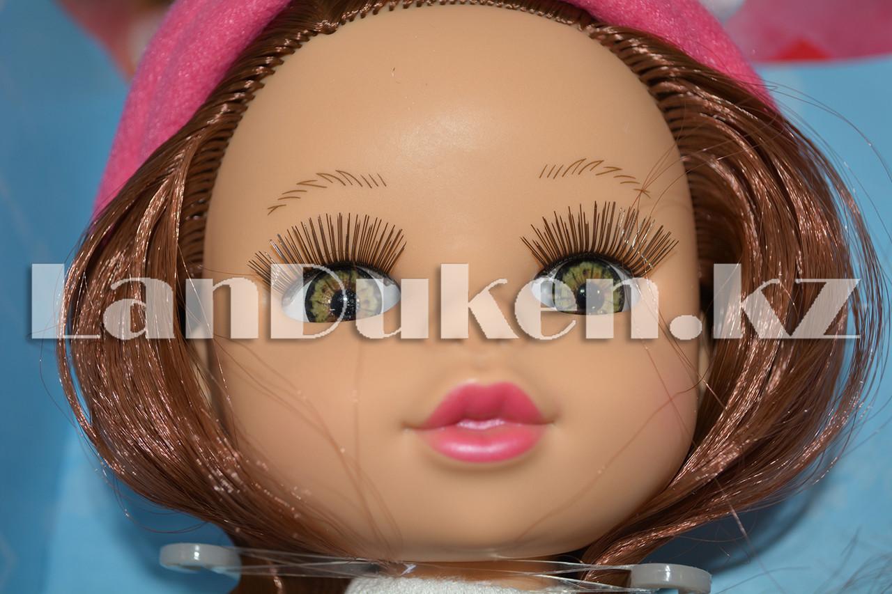 """Большая кукла """"MayMay Girls"""" розовая с звуковым эффектом h=33 см - фото 6"""