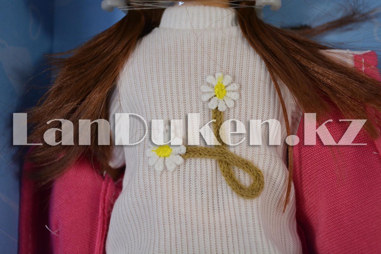 """Большая кукла """"MayMay Girls"""" розовая с звуковым эффектом h=33 см - фото 7"""