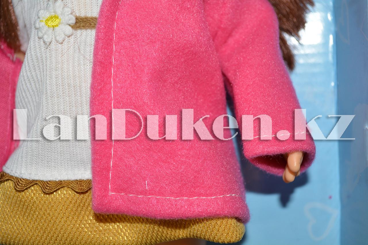 """Большая кукла """"MayMay Girls"""" розовая с звуковым эффектом h=33 см - фото 5"""