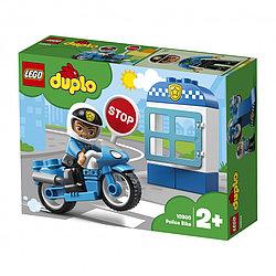 10900 Lego Duplo Полицейский мотоцикл, Лего Дупло