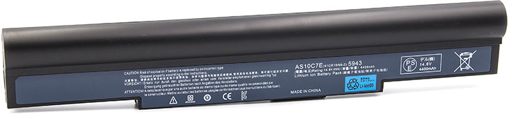 Аккумулятор для ноутбука Acer Aspire 5943G, AS10C5E (14.8V, 4400 mAh)