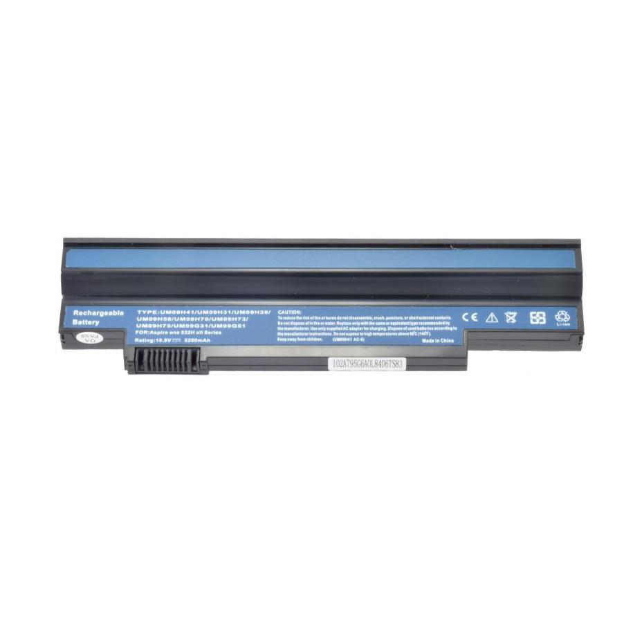 Аккумулятор для ноутбука Acer Aspire One 532H, UM09G75 (11.1V, 2200 mAh) Original