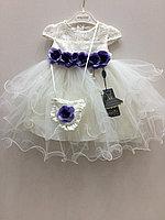 Платья белые бальные Eray Kids с сумочкой