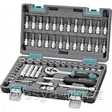 Набор инструментов 1/4. 57 предметов. STELS 14101, фото 3