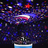 Вращающийся ночник-проектор Звездное небо. Star Master Dream, фото 3