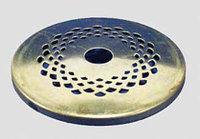 Cap perforated brass
