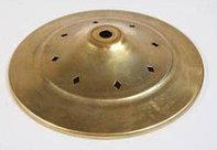 Cap with rhombus holes brass