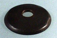 Cap with 5mm-hole brown