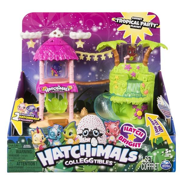 Игровой набор Hatchimals Тропический остров
