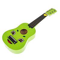 """Игрушка музыкальная """"Гитара"""", 54 см, зеленая    , фото 1"""