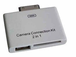 Адаптер к  iPad, для подключения камеры и SD карты(camera connection kit)