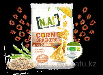 Безглютеновые кукурузные крекеры КИНОА торговая макра N.A!Произведено в Италии!